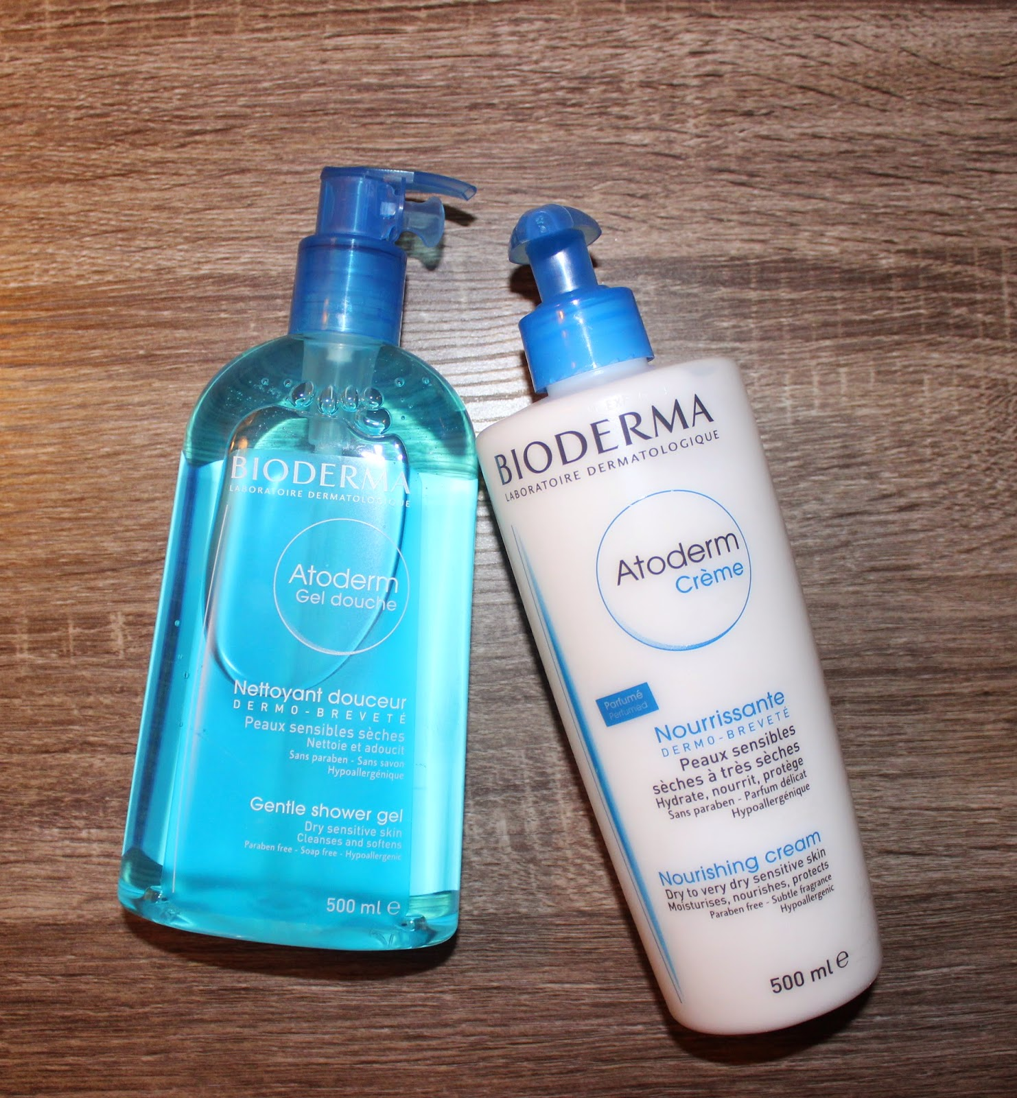 Bioderma Atoderm Gentle Shower Gel & Nourishing Cream