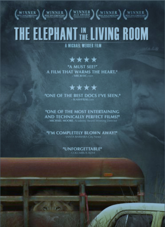 Trustmovies In Michael Webber 39 S The Elephant In The Living Room That Pachyderm Proves No Mere