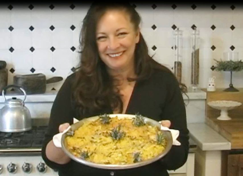 "Tortino patate, carciofi e rosmarino"" / Scalloped potatoes, artichokes ..."