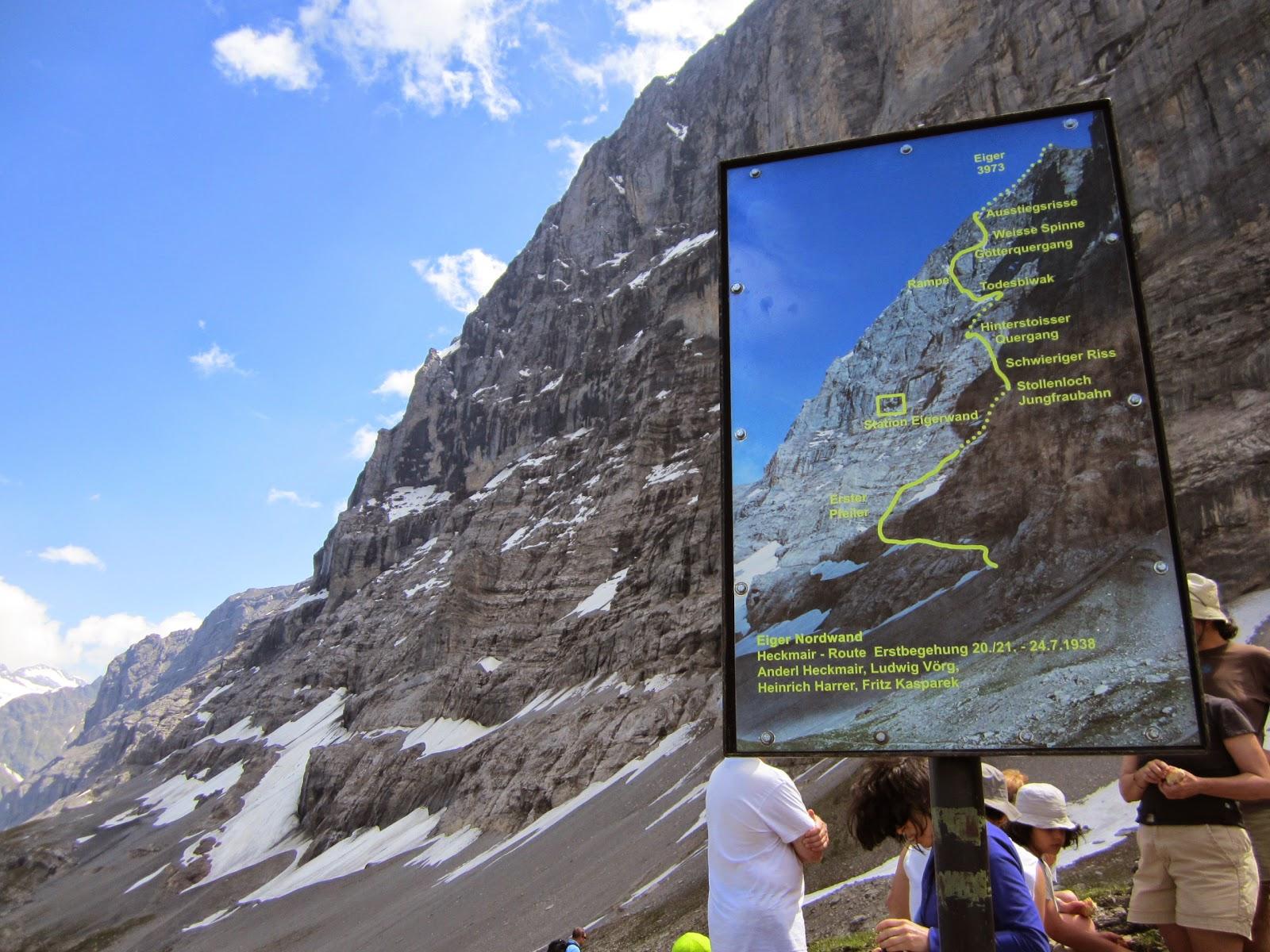 Klettersteig Eiger : Climbing trip reports eiger klettersteig