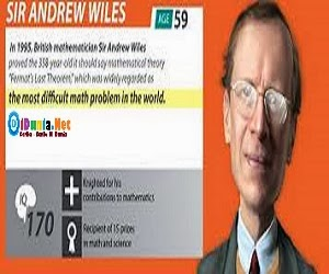 Sir Andre Wiles