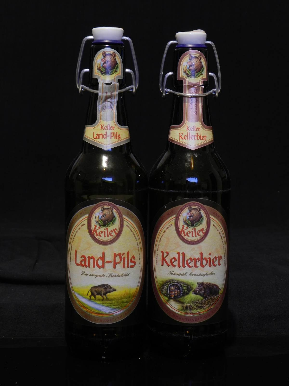 the beer bottles collector keiler land pils keller beer in a