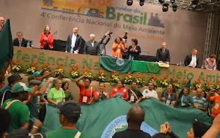 Plenária da Conferência Nacional de Meio Ambiente