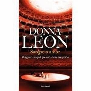 Ranking  Semanal: Número 3. Sangre o amor, de Donna León.