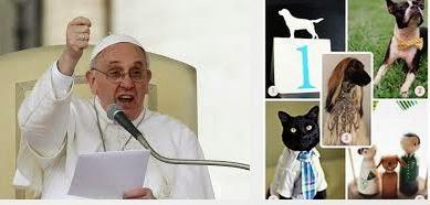 El papa critica los matrimonios que prefieren tener mascotas en vez de hijos