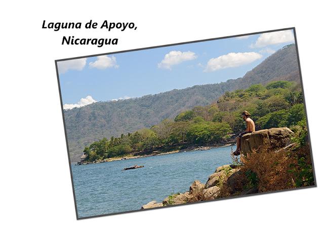 La lagune d'Apoyo au Nicaragua
