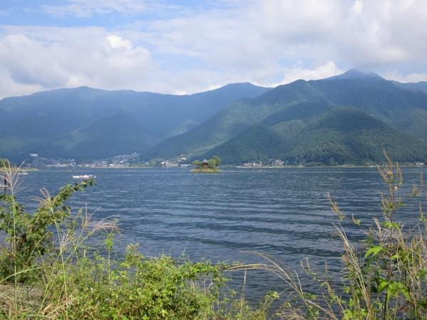 Lake near Fuji