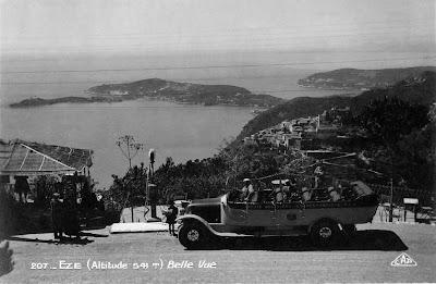 transpress nz convertible bus eze france 1930s. Black Bedroom Furniture Sets. Home Design Ideas