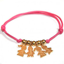 """Idée cadeau de Noël pour les mamans : le bracelet """"Mes petits loups"""" personnalisable !"""