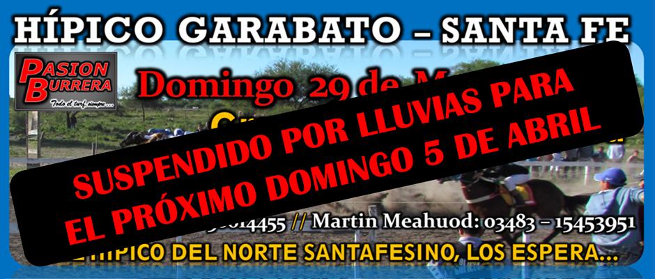 GARABATO - 29 DE MARZO