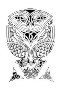 Celtic Owl Tattoo Design Picture 4