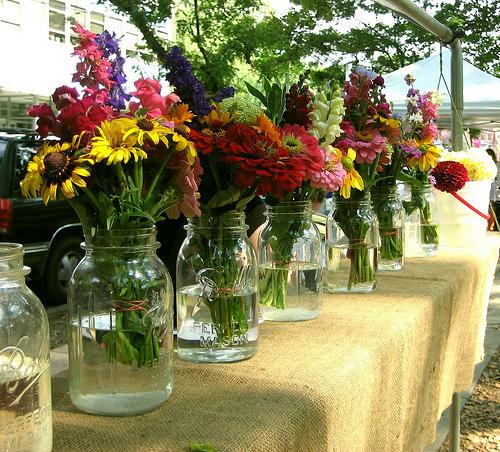 Two Men And A Little Farm Large Mason Jar Flower Vase