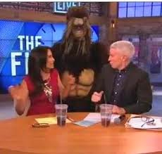 Anderson Cooper Bigfoot Prank