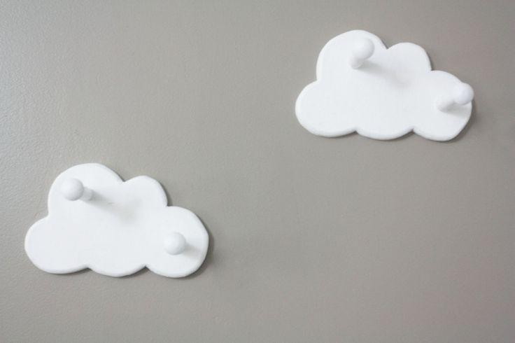 Cabideiro infantil nuvem
