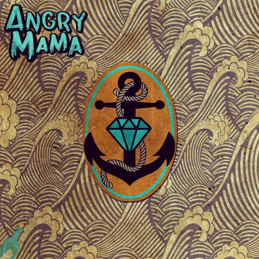 "ANGRY MAMA – S/T – 7"""