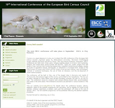 19th conference of the European Bird Census Council
