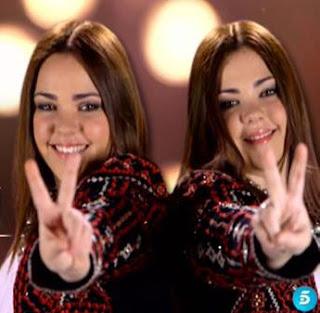Alba y Marta -la-voz