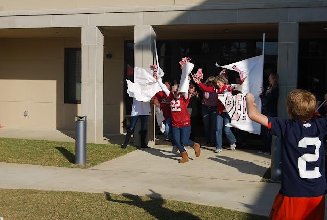 Montgomery Catholic Preparatory School Holy Spirit Pep Rally Surprise 2