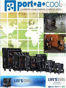 portacool cyclone evaporative cooler  port a cool catalogue 2013
