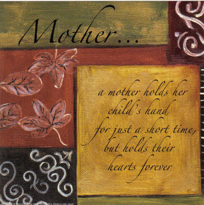 the greatest of these is love mother