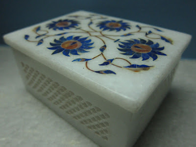 Marble Inlay Work from Agra