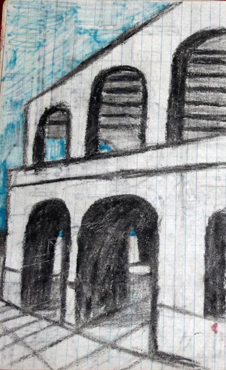 Edificio de arcos