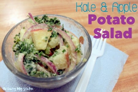 Kale & Apple Potato Salad @ The Crafty Blog Stalker