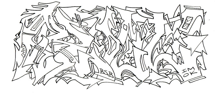 Graffiti Wildstyle | Best Graffitianz