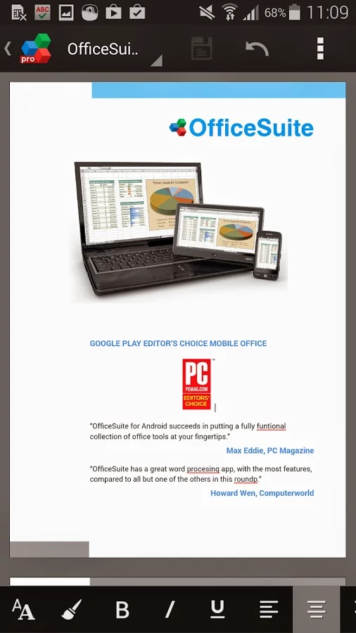 OfficeSuite Premium 7 (PDF & HD) v7.5.1952