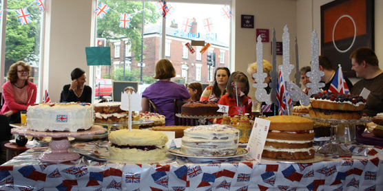 Clandestine Cake Club Bolton - All Rise... The Diamond Jubilee