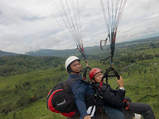 Paralayang Puncak, Bukit Gantole