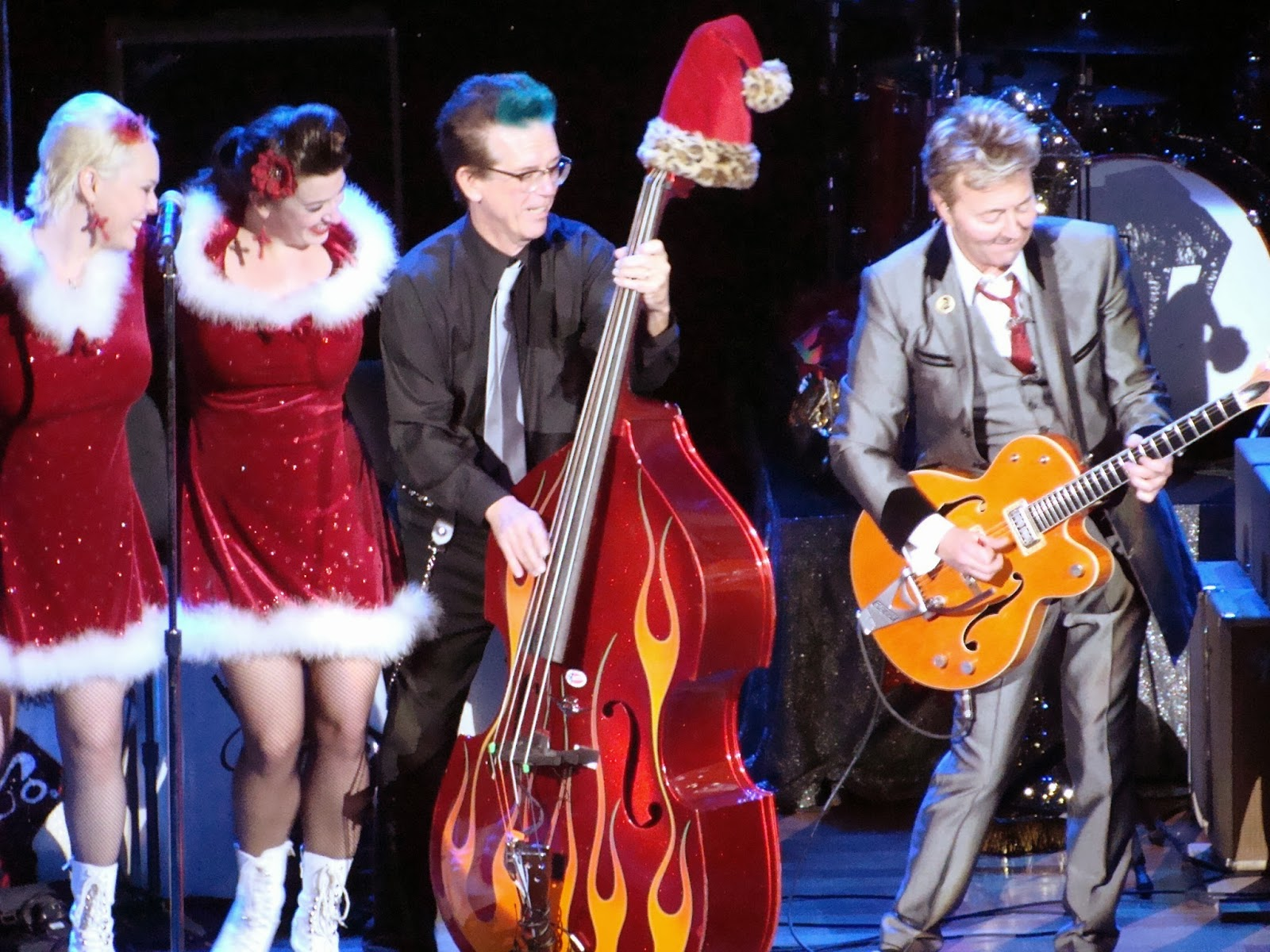 Rockabilly N Blues Radio Hour: Brian Setzer Orchestra- Ryman Auditorium in Nashville, TN 2013