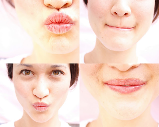 how to make your lips smooth and pink