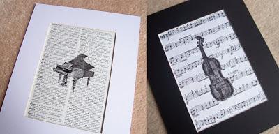 image vintage dictionary page art print grand piano vintage sheet music print violin
