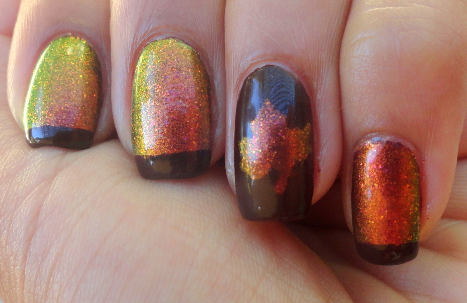 Fancy Schmancy Nails: Color Changing Garnet Really Changes Color!!