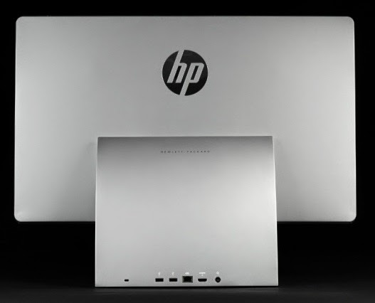 порты на задней стороне HP Spectre One