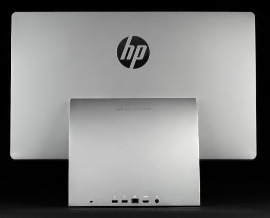 порты на задней стороне HP Spectre One