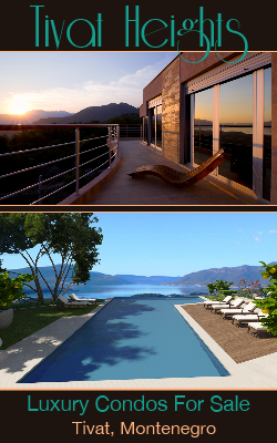 Luxury Condos For Sale or Rent long-term in Tivat
