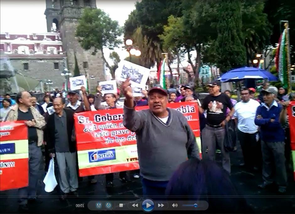 VIDEO: DEFRAUDADOS POR SITMA RECLAMAN INCUMPLIMIENTO DE MORENO VALLE