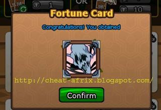 cheat fortune card
