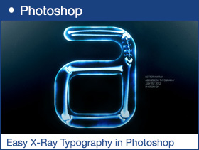 Easy X-Ray Typography in Photoshop