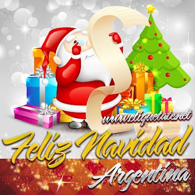 Feliz Navidad Argentina - Imágenes para etiquetar y Compartir