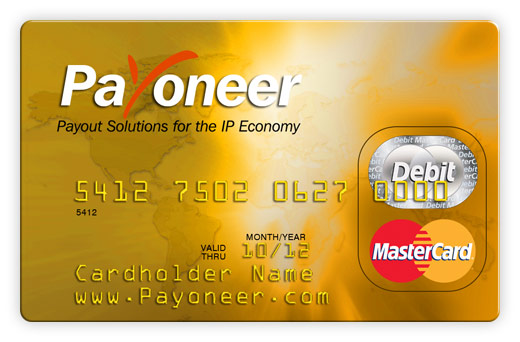 how to buy on clickbank with payoneer card