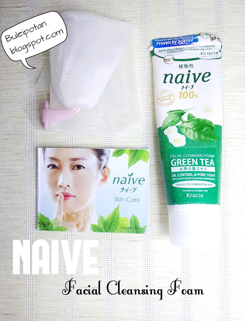 "NAIVE ""Facial Cleansing Foam"" Green Tea"""