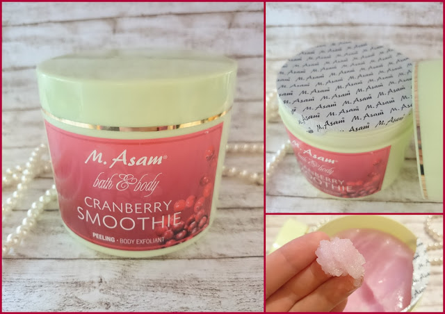 Review M. Asam Cranberry Smoothie Peeling