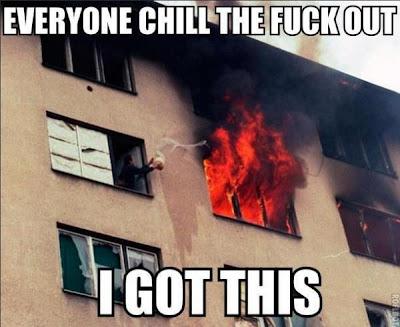 Jeg klarer branden