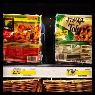 Vegan Vegetarian Food Protein Groceries Target Nasoya and Azumaya Tofu