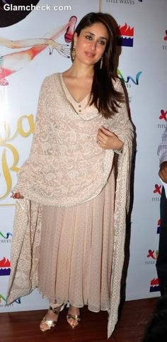 Kareena Kapoor Khan in Chikankari Anarkali