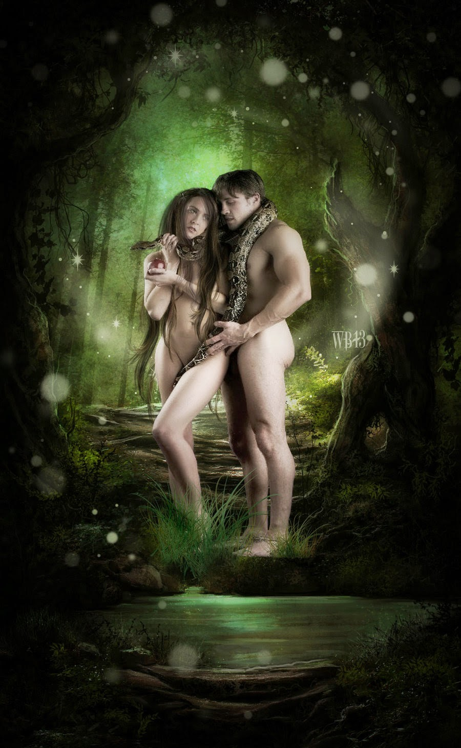Adam, Eve and Satan