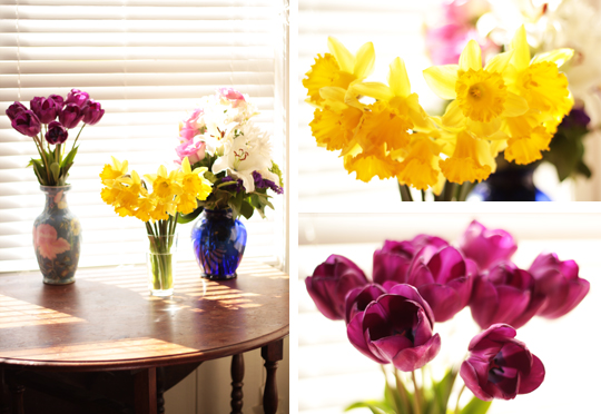 spring flowers bouquets